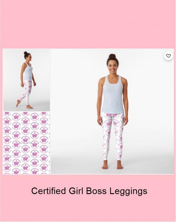 Certified Girl Boss Leggings